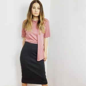 Vince Camuto Gray Pencil Skirt